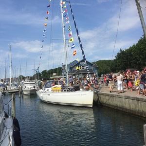 SIF arriving in Sønderborg July 2016